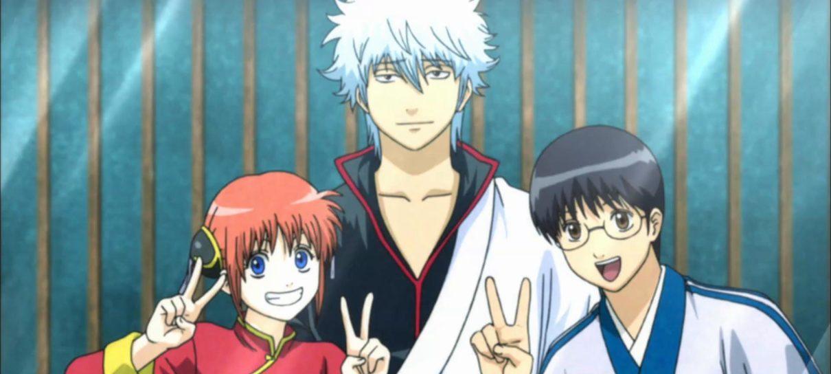 Gintama vai ter um especial em anime em 2021