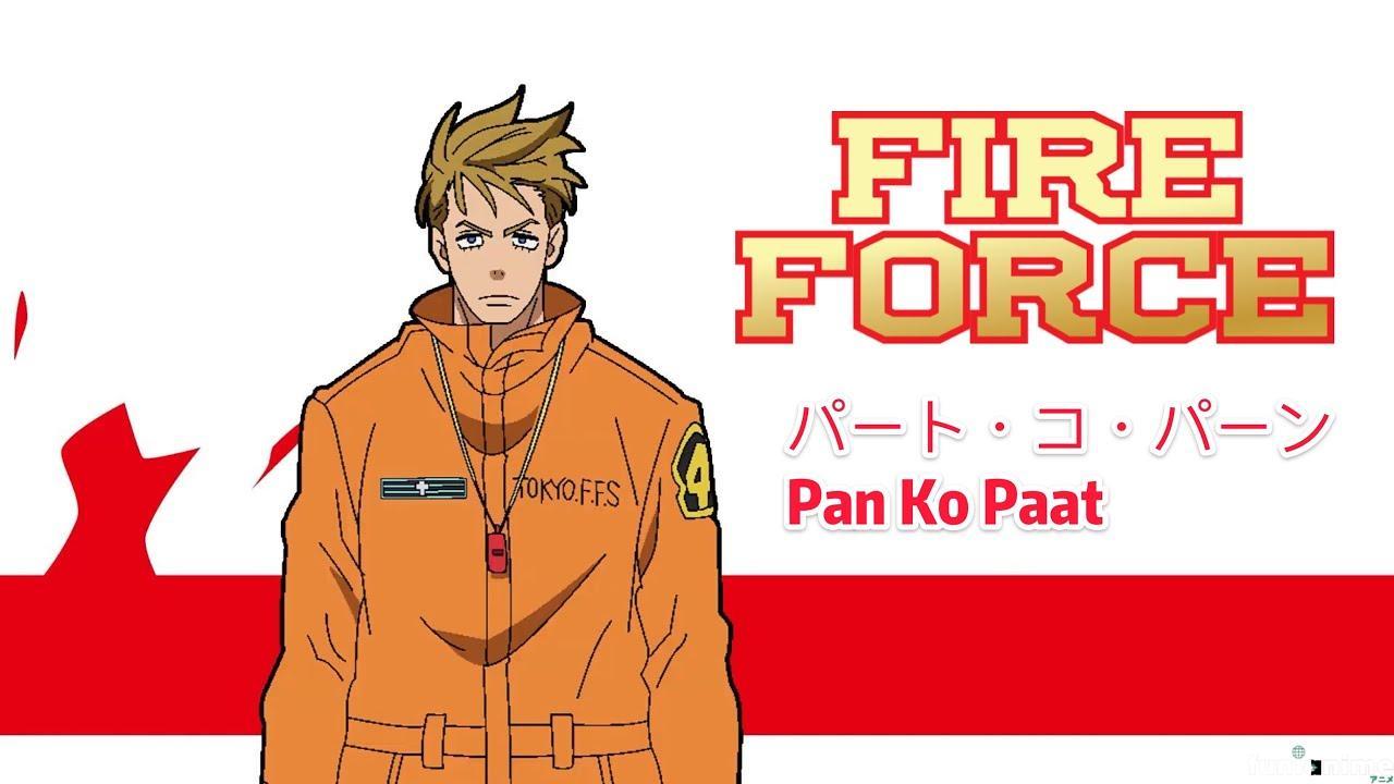 Fire Force: Novo vídeo promocional da 2ª temporada com Pan Ko Paat