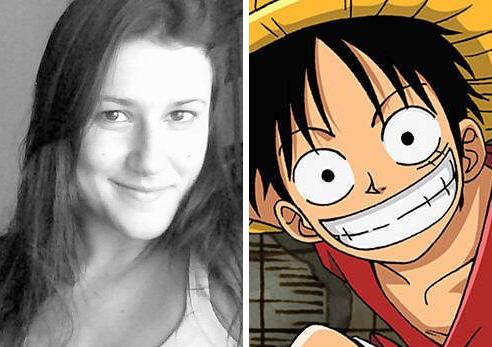 Carol Valença: a provavel nova dubladora do Luffy em One Piece (créditos:Jbox)