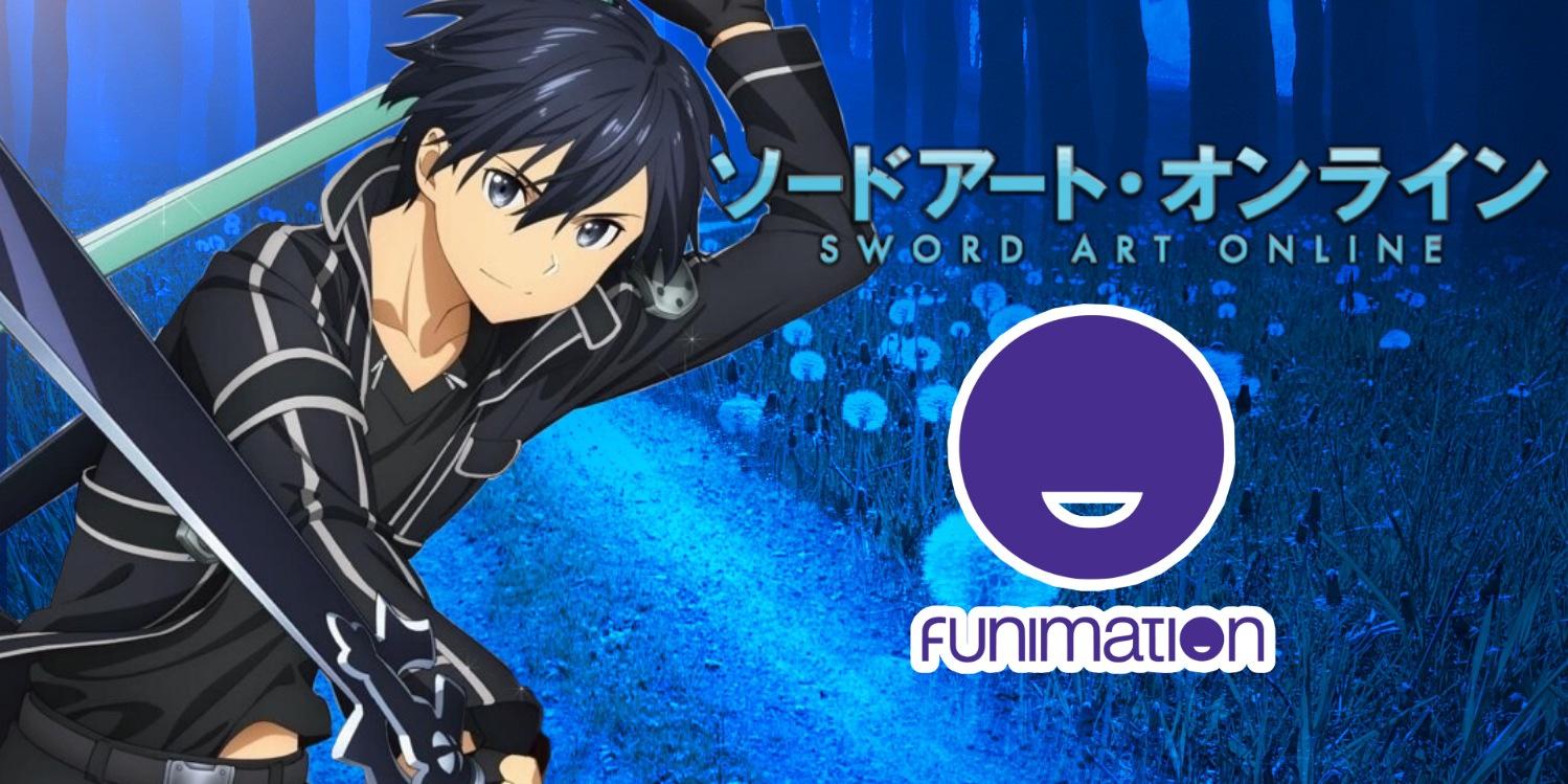 Sword Art Online no catálogo da Funimation Brasil?