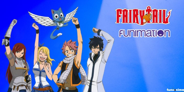 Foto de Fairy Tail vai estar no catálogo da Funimation Br!