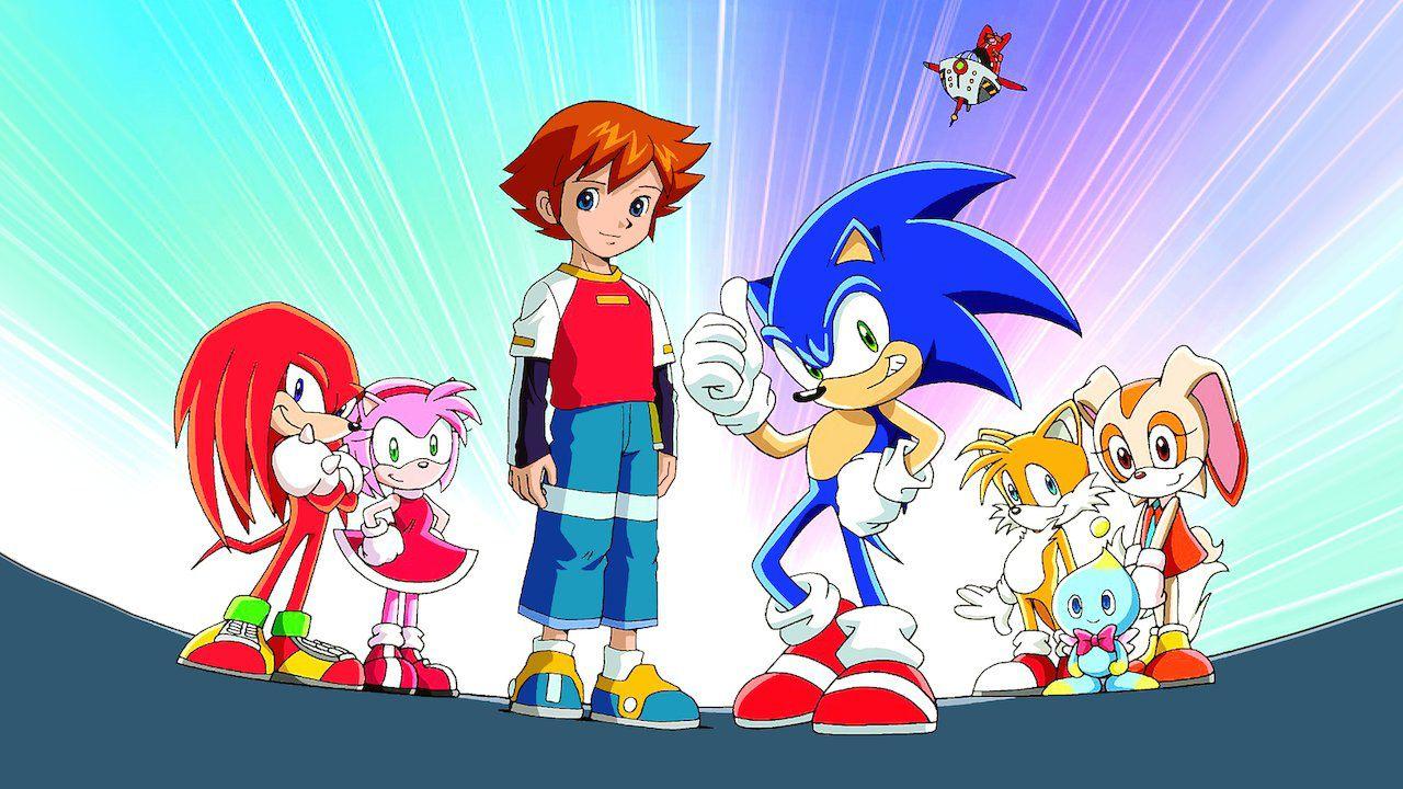Foto de Sonic X está disponível DE GRAÇA no YouTube!
