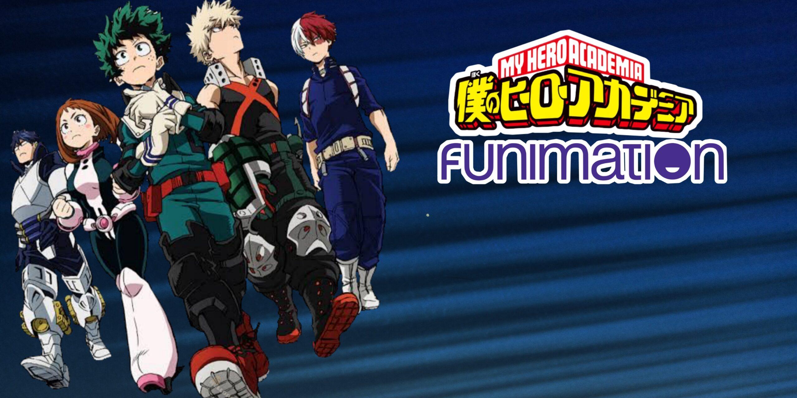 Foto de My Hero Academia vai estar no catálogo da Funimation Br, e…
