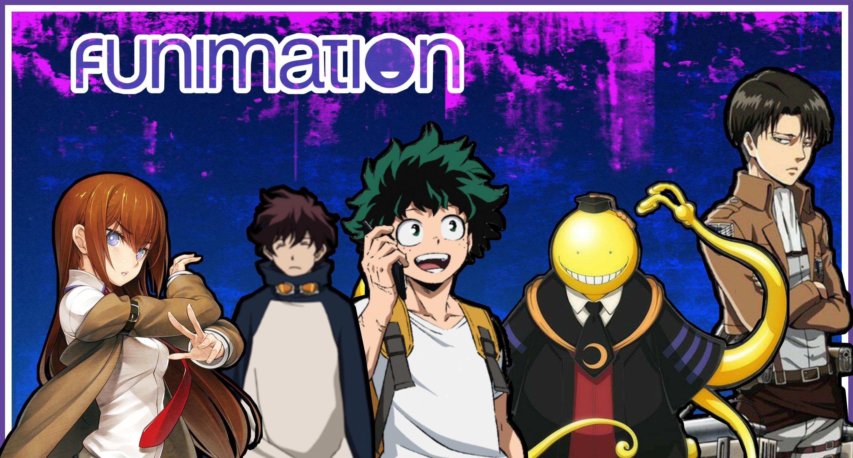Foto de Funimation tem mês de estreia confirmada e terá mais de 200 animes e filmes no seu catálogo