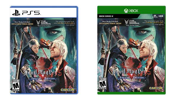 [Update] Devil May Cry V: Edição física da Special Edition será lançada dia 1 de dezembro.