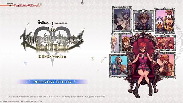 Kingdom Hearts: Melody of Memory terá sua demo dia 15 de Outubro