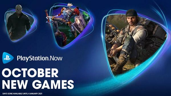 PlayStation Now: Days Gone, MediEvil, Friday the 13th: The Game, Trine 4: The Nightmare Prince, e RAD são adicionados ao catálogo da plataforma