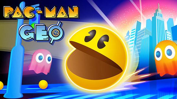 Pac-Man Geo: Jogo está disponivel agora.