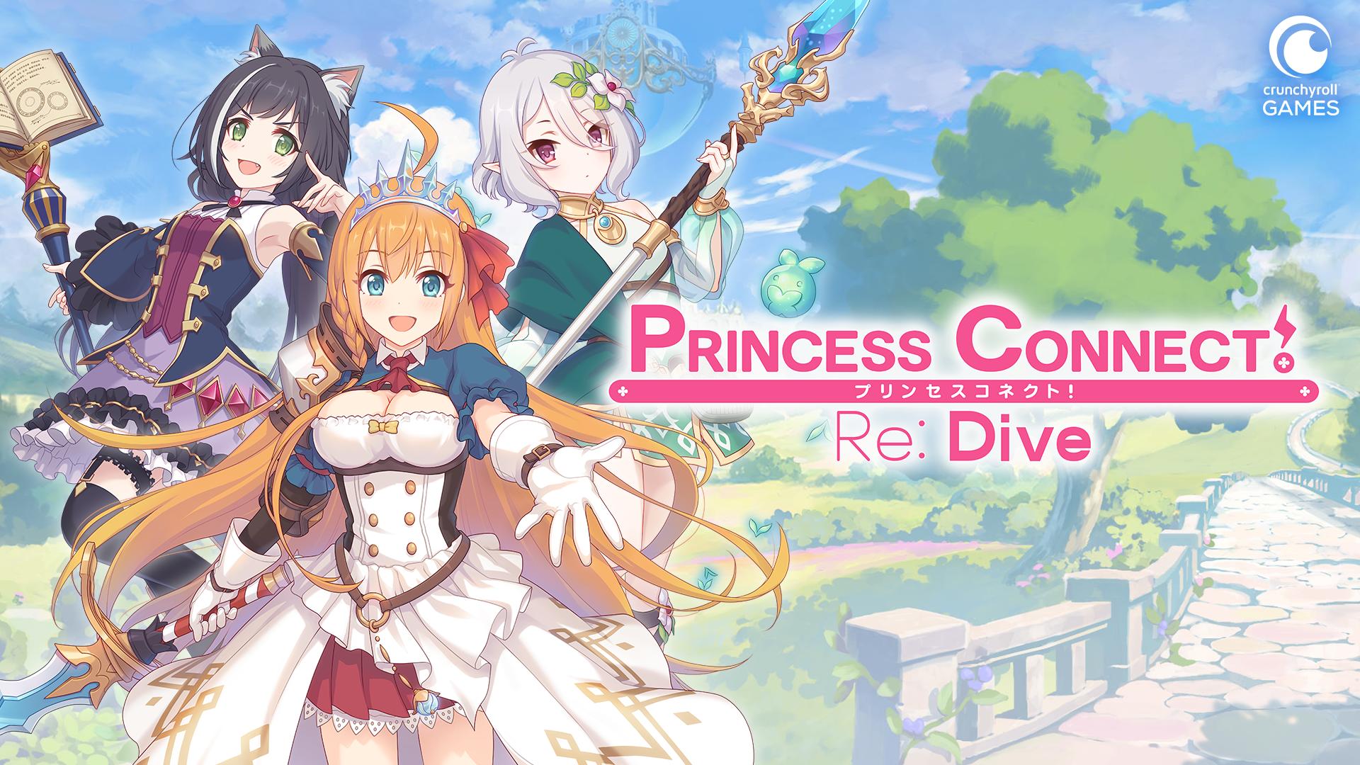 Princess Connect! Re:Dive será lançado mundialmente pela Crunchyroll Games