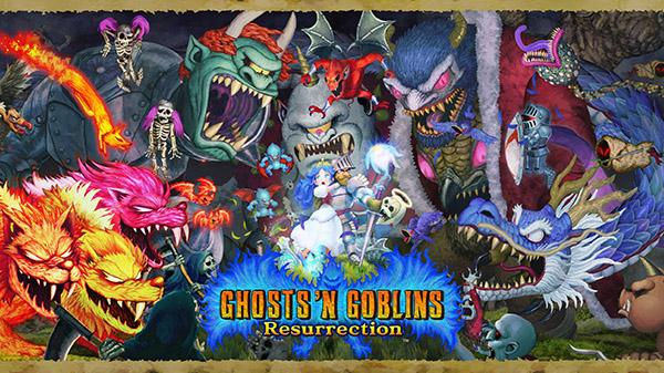 Ghosts'n Goblins Resurrection é anunciado para o Nintendo Switch