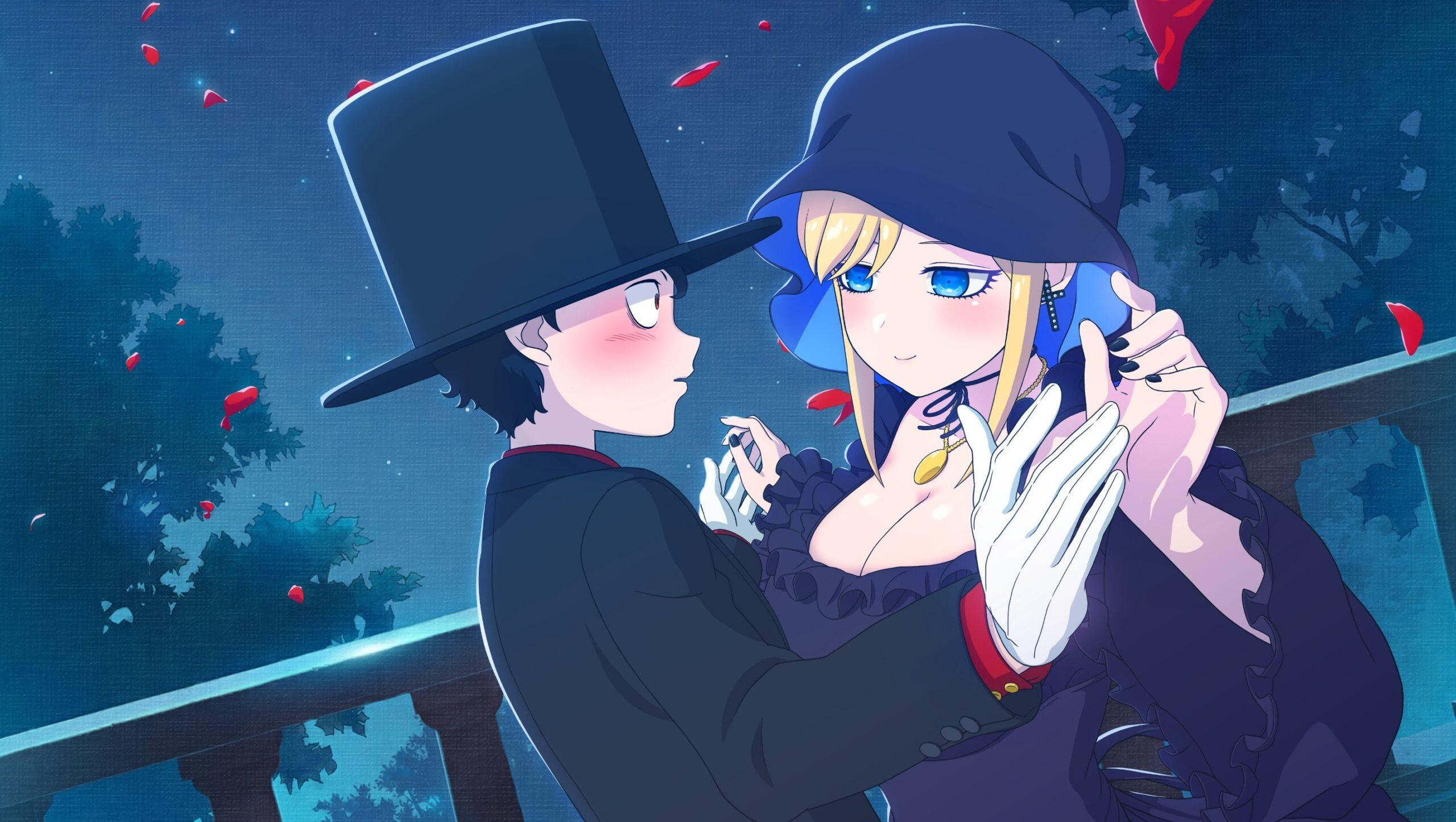 Mangá 'Shinigami Bocchan to Kuro Maid' tem anime anunciado