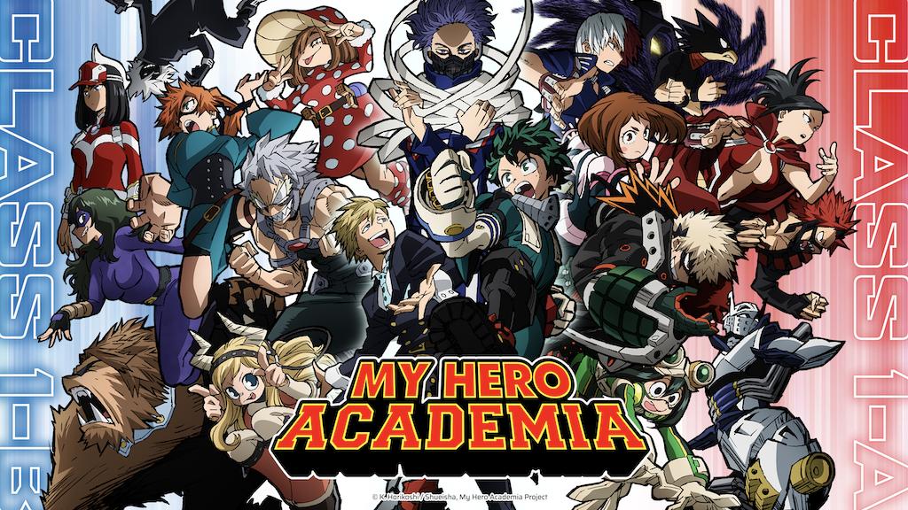 A transmissão da 5° temporada de My Hero Academia é confirmada no Brasil!