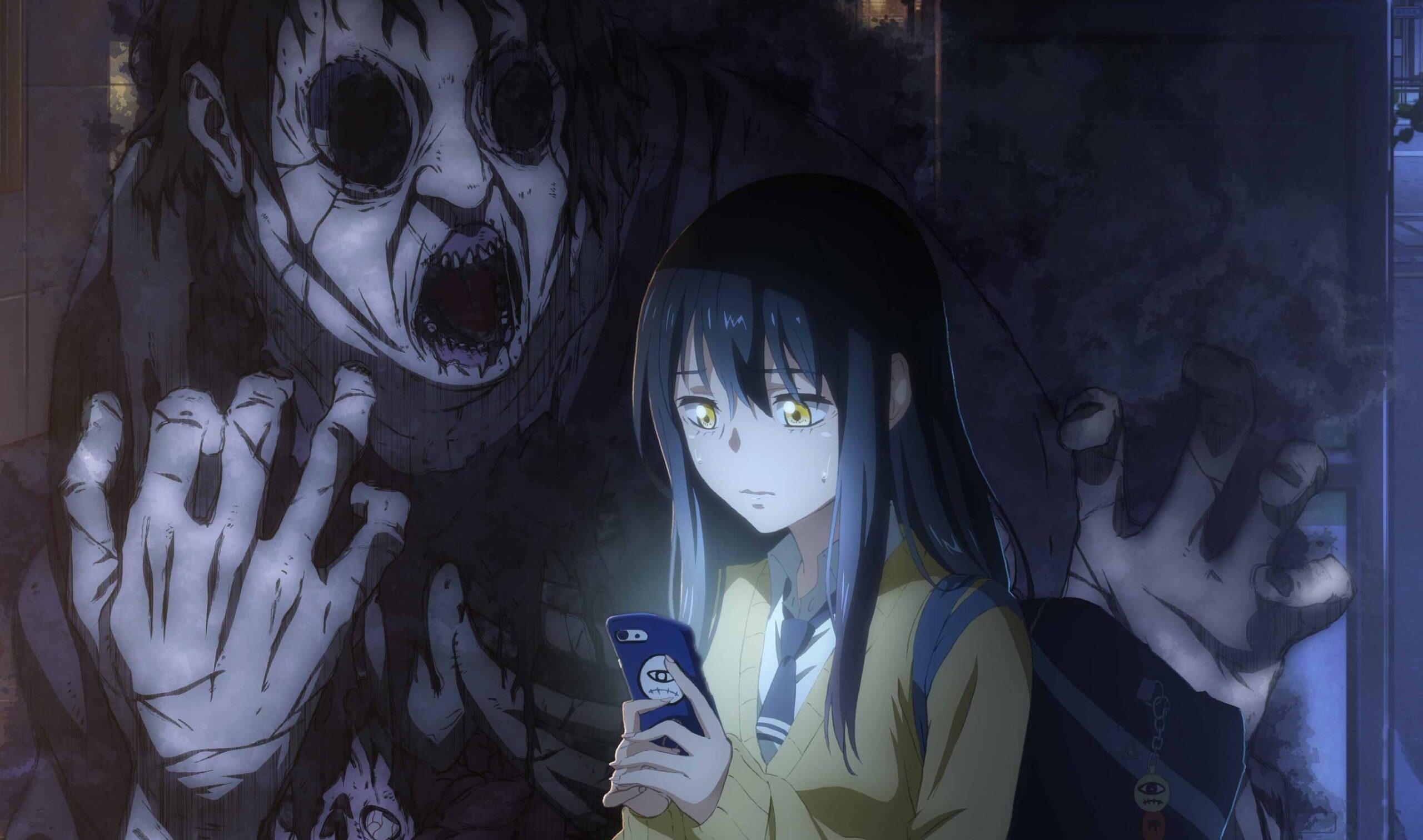 Mangá 'Mieruko-chan' tem anime anunciado