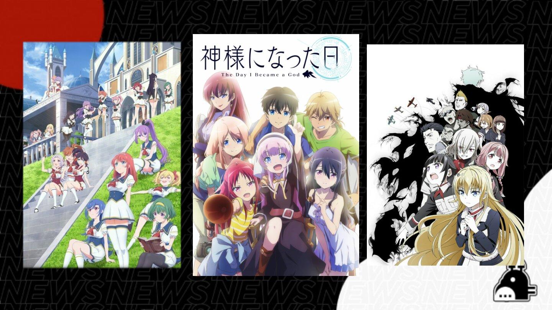 'The Day I Became a God' e mais títulos chegam à Funimation!